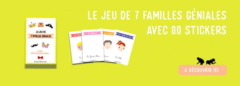 Jeu 7 familles Grand-Mercredi