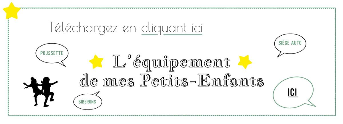Bannière équipement petits-enfants