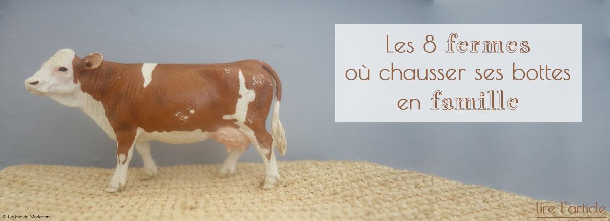 8 fermes en France