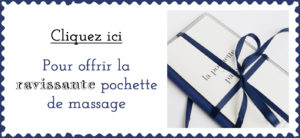 pochette massage