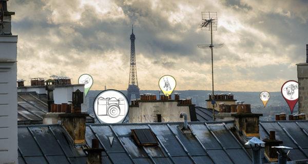 La carte de Paris à imprimer