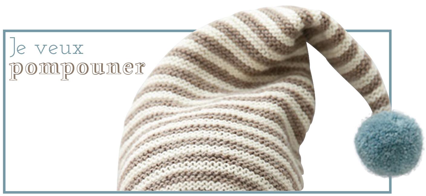 Bonnet lutin tricot
