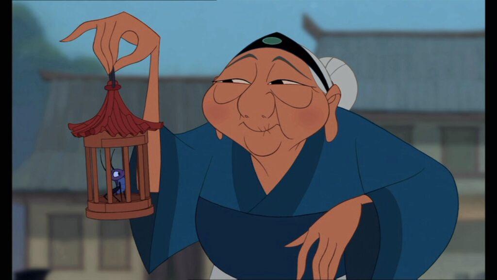 grand-mère Mulan