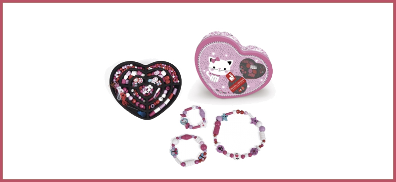 Coffret Chat 250 Perles