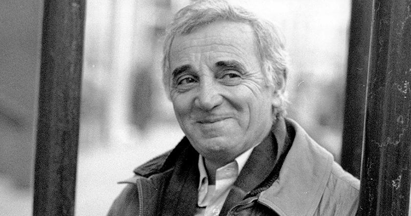 joue contre joue aznavour