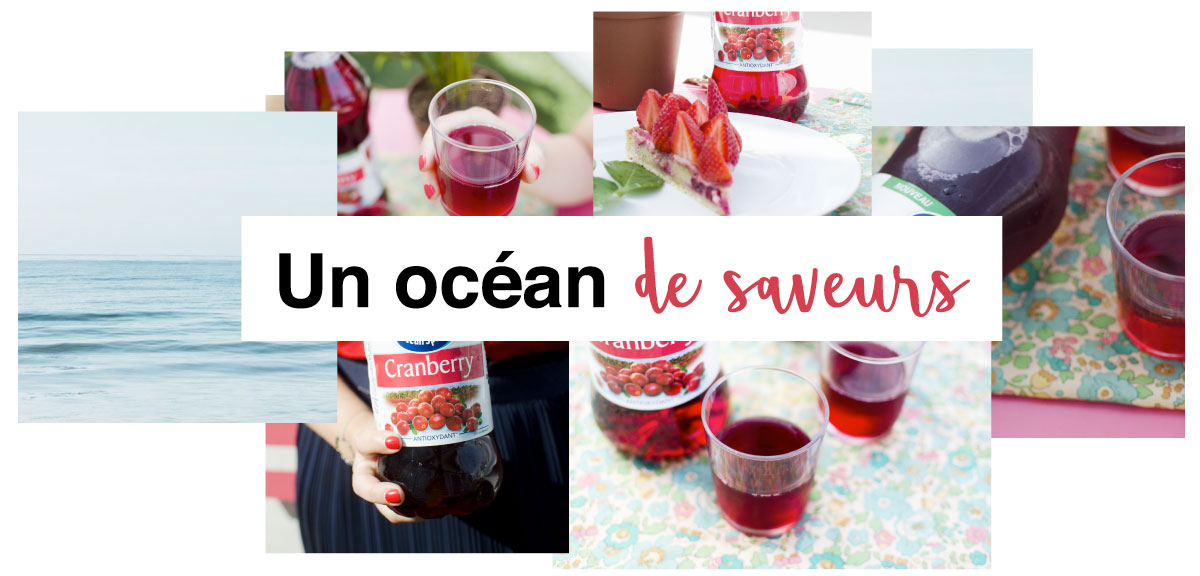 Ocean Spray océan de saveur visuel