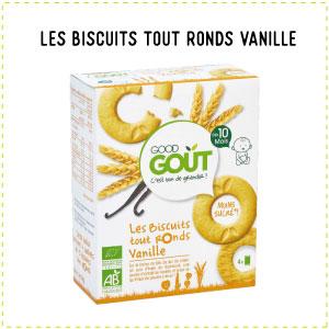 le lait alternative biscuits tout ronds vanille