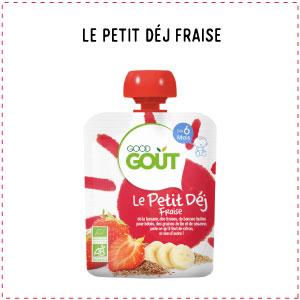le lait alternative petit dej fraise good gout