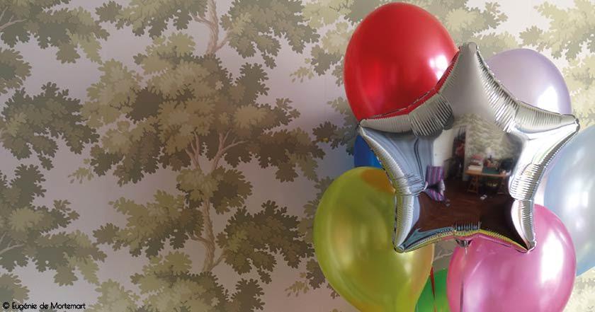 Boutique de ballons à l'hélium