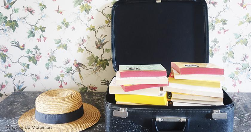 Sélection de livres à lire en vacances