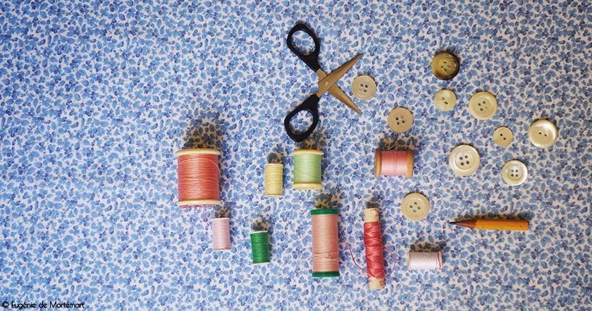 Cours de couture pour petites filles