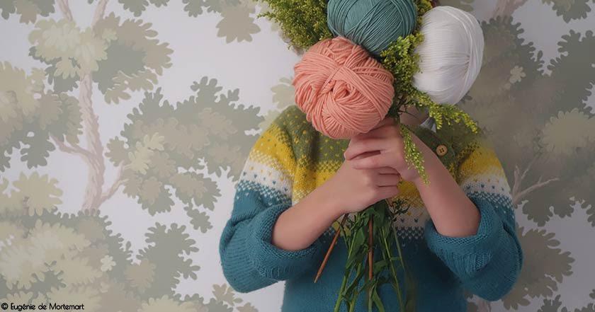 Tricoter pour la naissance d'un petit-enfant
