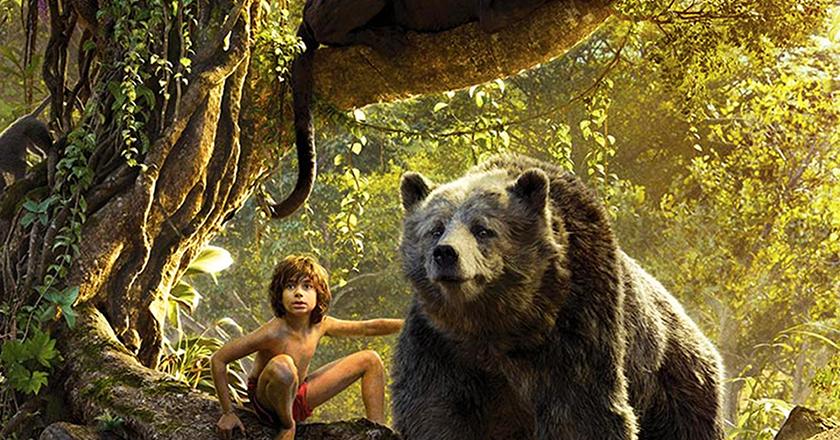 Le livre de la jungle au cinéma