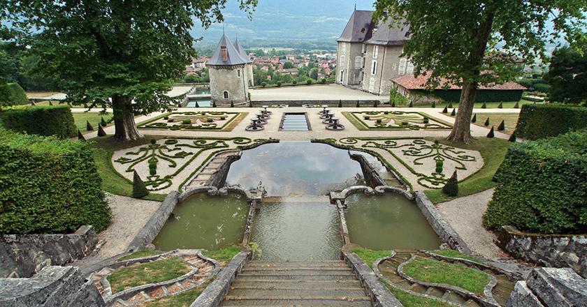 Visite châteaux Isère enfants