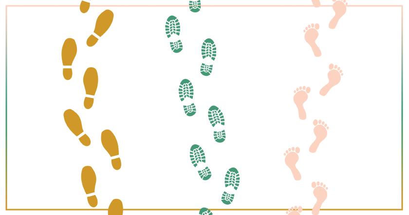 Marcher, c'est bon pour toute la famille