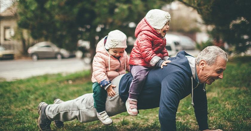 Vacances avec petits-enfants