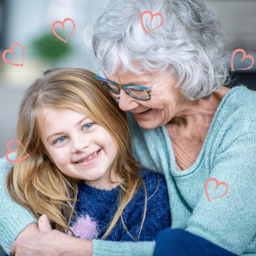 Poèmes d'amour de Grands-Parents pour leurs Petits-Enfants