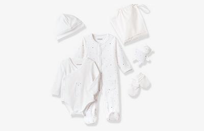 Trousseau blanc bébé