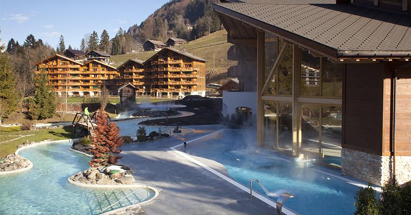 Séjour à Bains de Val d'Illiez