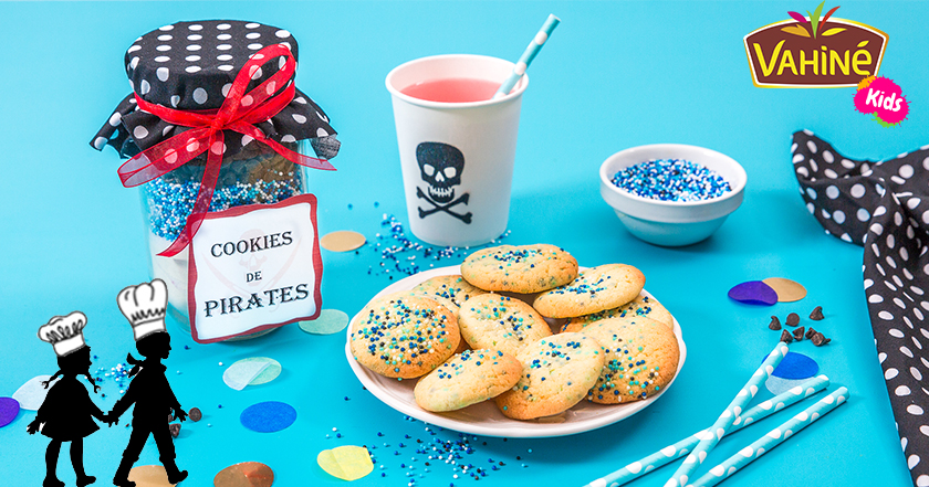 Cookies pirates recette