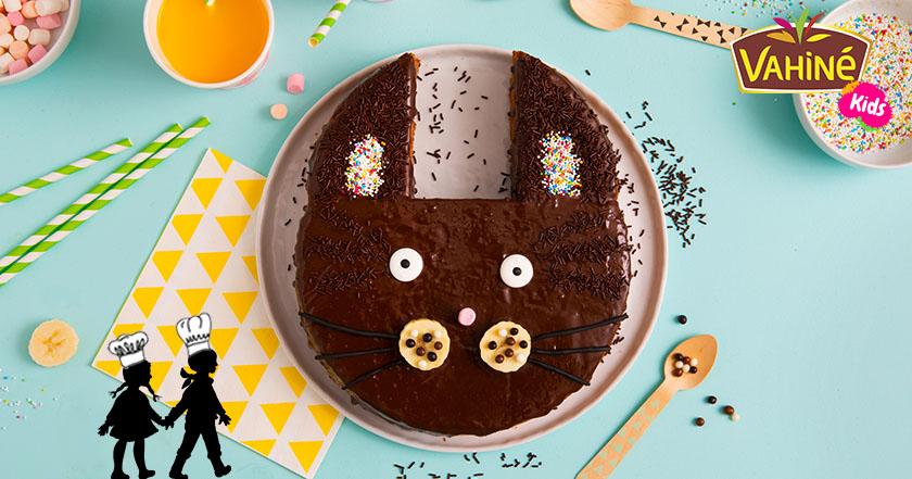 recette gâteau chat chocs-noisette