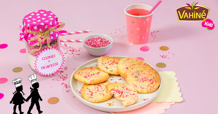 Cookies de princesses