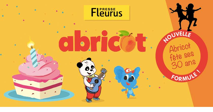 Abricot magasine Fleurus