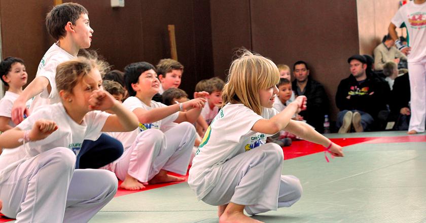 Cours capoeira Petits-Enfants Paris