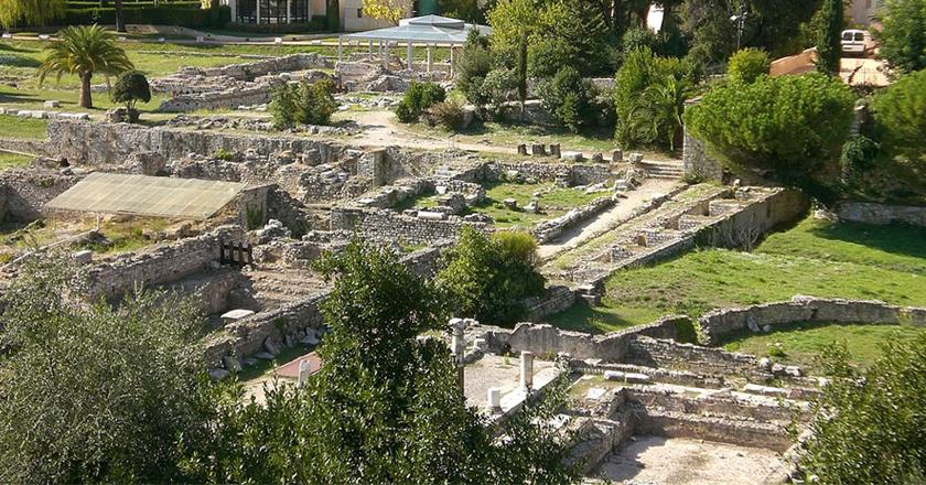 Musée archéologique Gallo Romain de Nice - Site Cimiez