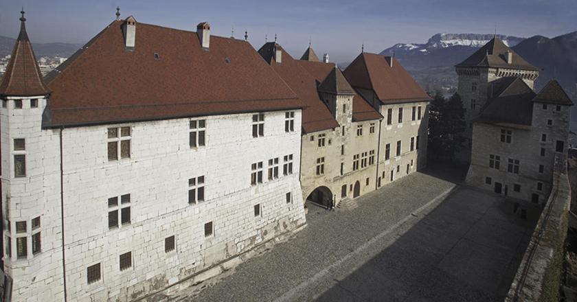 Visite château d'Annecy