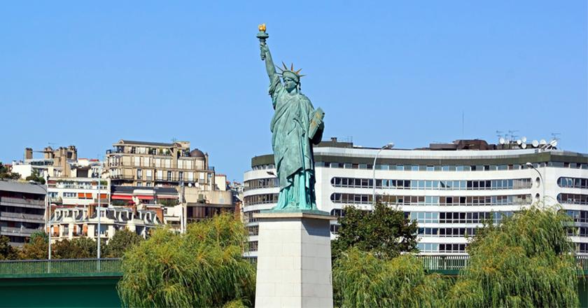 L'Ile aux Cygnes à Paris