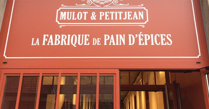 fabrique Mulot et Petit Jean à Dijon