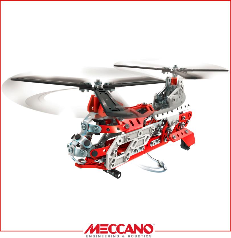Photo jouet meccano helicoptere