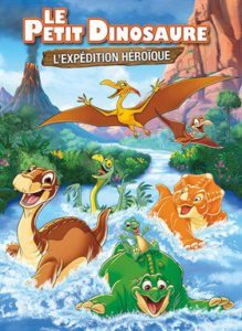 affiche du film Le Petit Dinosaure l'expedition heroique