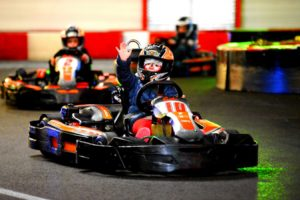 photo enfant karting