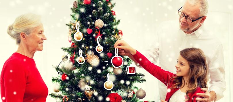organiser Noël visuel article