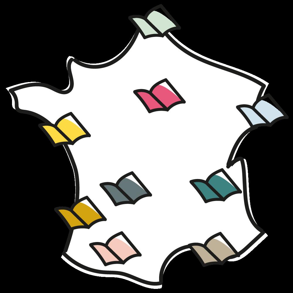 Carte – Librairies