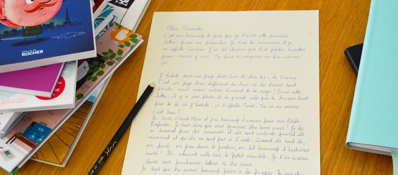 La première lettre à Thioumbe