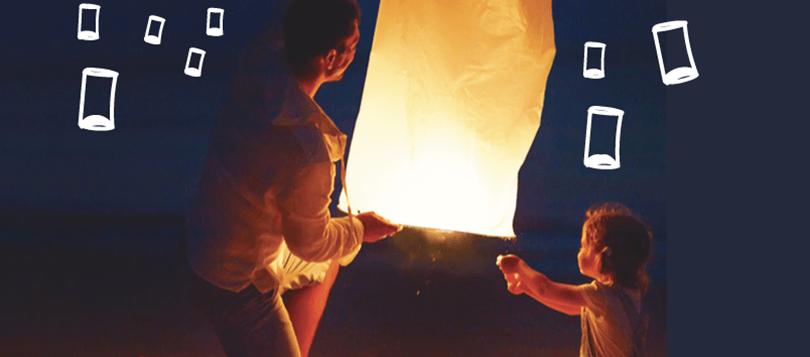 Ces lanternes ont un pouvoir magique !