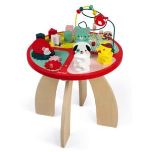table-d-activites-baby-forest-bois