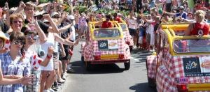 Suivez la caravane du Tour de France