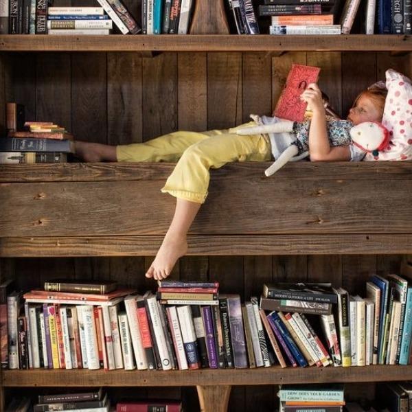 Les lieux insolites pour lire un livre à ses Petits-Enfants