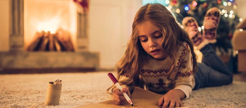 Lettre à ma grand-mère pour Noël