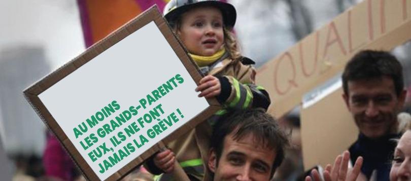 Grève : la France entière va à nouveau pouvoir compter sur les Grands-Parents