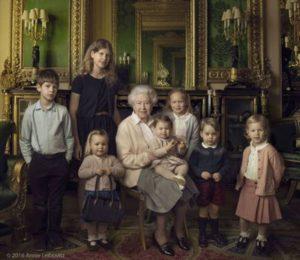 Elizabeth II : Grand-Mère célèbre