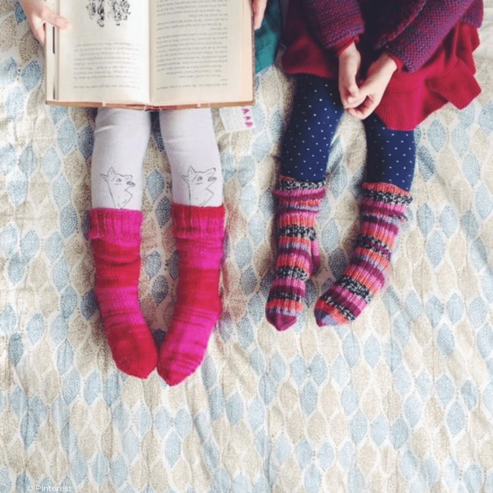 Chaussettes magiques et histoire du soir : le combo gagnant