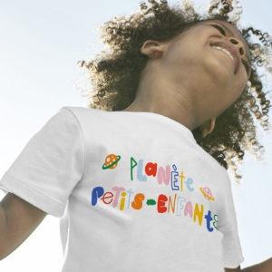 T-Shirt Planète Petits-Enfants