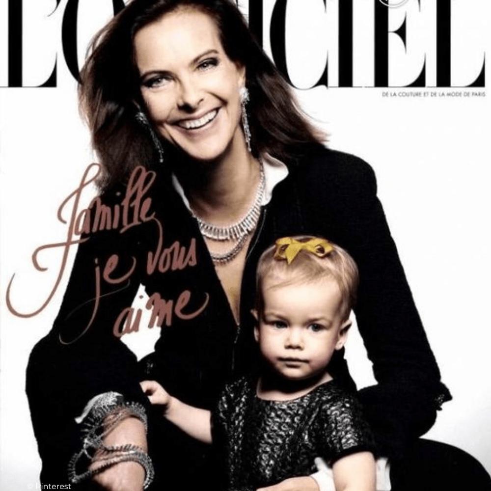 Un nouveau Petit-Fils pour Carole Bouquet, chez Louis Giacobetti