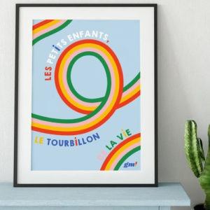 Affiche 'Tourbillon de la vie'