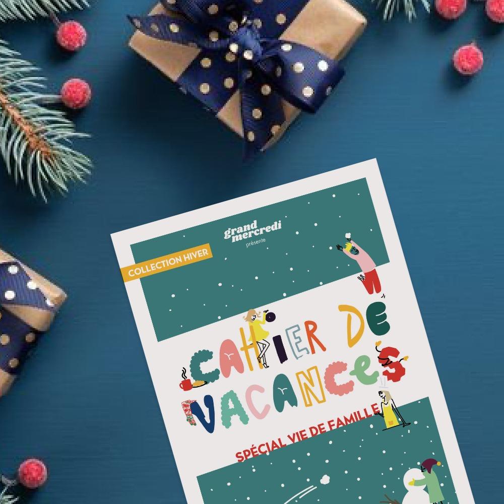 Le cahier de vacances spécial vie de famille !